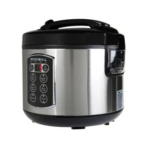 Rosewill 12-Cup Cooked 6-Cup Uncooked Digital Rice Cooker and Food Steamer with... by Rosewill