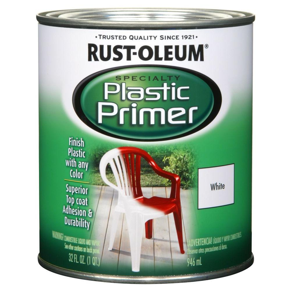Rust-Oleum Specialty 1-qt. Plastic Primer (Case of 2), White