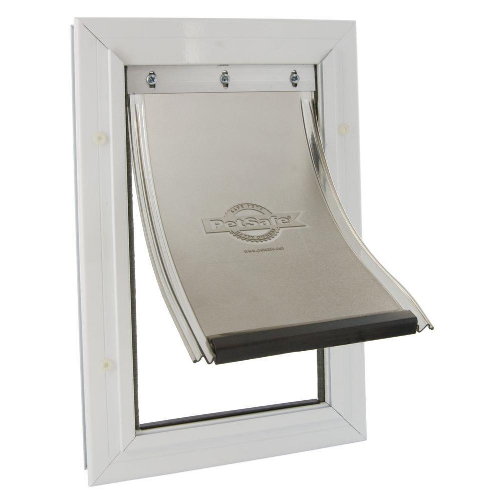 PetSafe 5-1/4 in. x 8-1/8 in. Small Freedom Aluminum Pet Door