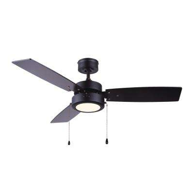 Wallis 42 in. Integrated LED Ceiling Fan with Light Kit