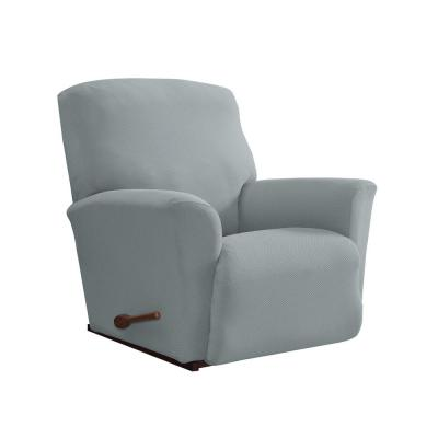 Gray Pique Stretch Fit Recliner Slipcover