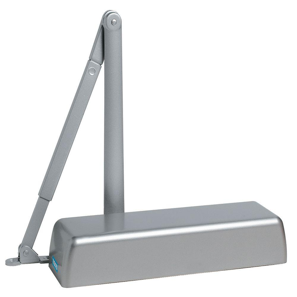 Heavy Duty Commercial Door Closer in Aluminum - Sizes 1-6