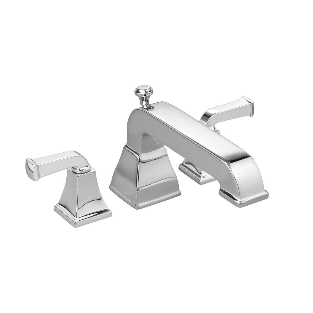 Town Square 2-Handle Deck-Mount Roman Tub Faucet in Polished Chrome