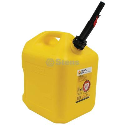 New 765-512 5 Gal. Plastic Diesel Fuel Can for CARB Approved