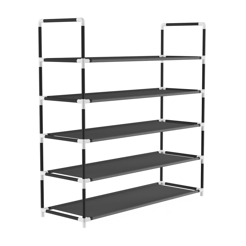 25-Pair 5-Tier Shoe Storage Rack