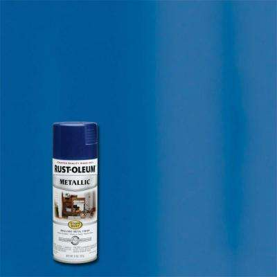 11 oz. Metallic Cobalt Blue Protective Spray Paint