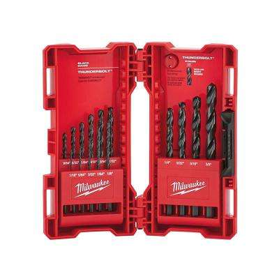 Black Oxide Drill Bit Set(15-Piece)