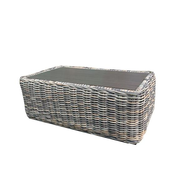 Hawaii Rectangle Wicker Outdoor Coffee Table