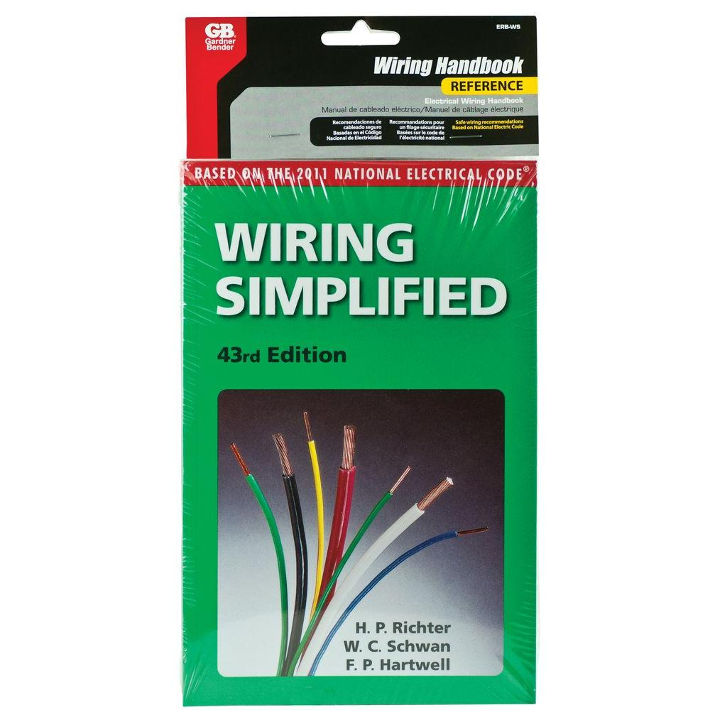 Wiring Simplified 45th Edition Diy Electrical Installation Guide Reg Books Erb Ws The Home Depot