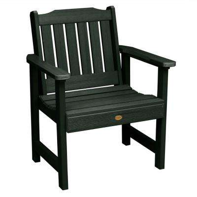 Lehigh Charleston Green Recycled Plastic Outdoor Lounge Chair