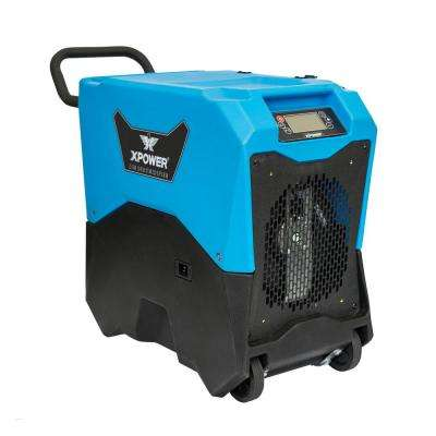 ENERGY STAR 135-Pint Portable LGR Commercial Dehumidifier with Auto Purge Pump for Basement, Mold, Restoration