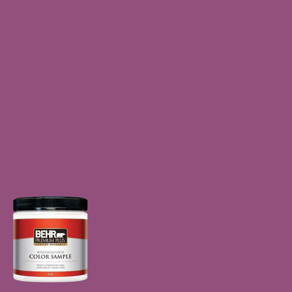 BEHR Premium Plus 8 oz. #P110-7 XOXO Interior/Exterior Paint Sample