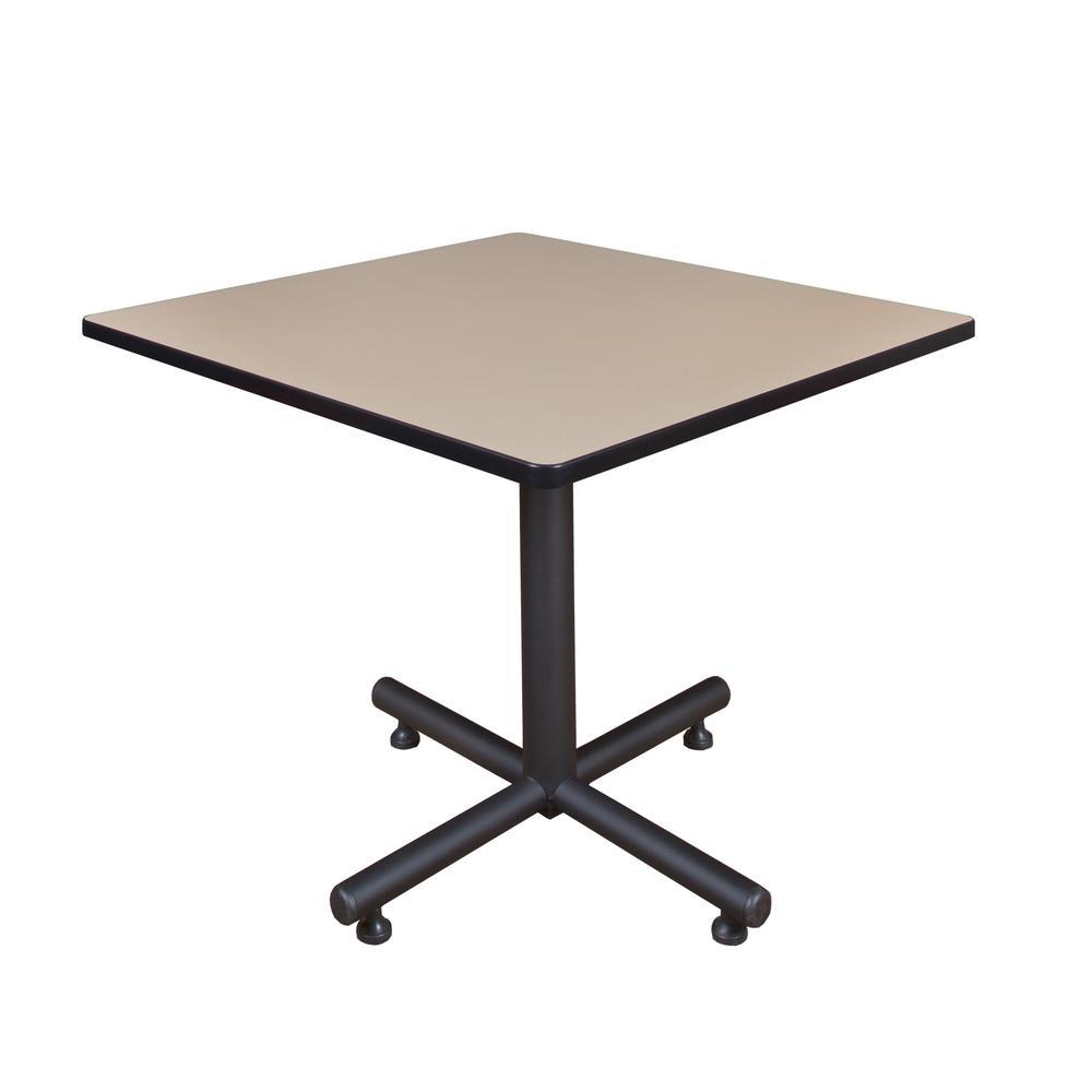 Regency Kobe Beige 36 in. Square Breakroom Table TKB3636BE