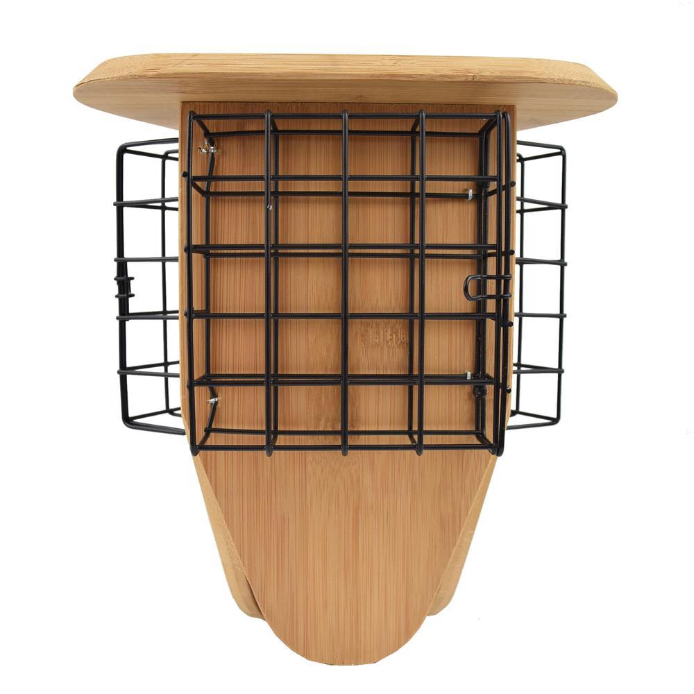 Triple Delight Bamboo Suet Hanging Bird Feeder