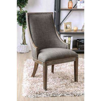 Iqaluit Gray Color Contemporary Accent Chair