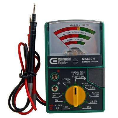 Electric Battery Tester