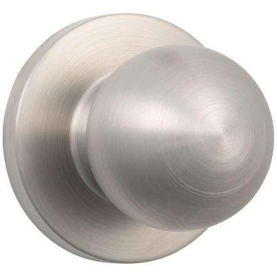 Commercial 2-1/8 in. Grade 2 Satin Chrome Heavy Duty Passage Hall/Closet Door Knob