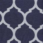 3 in. x 3 in. CYOC Fabric Swatch in Midnight Trellis