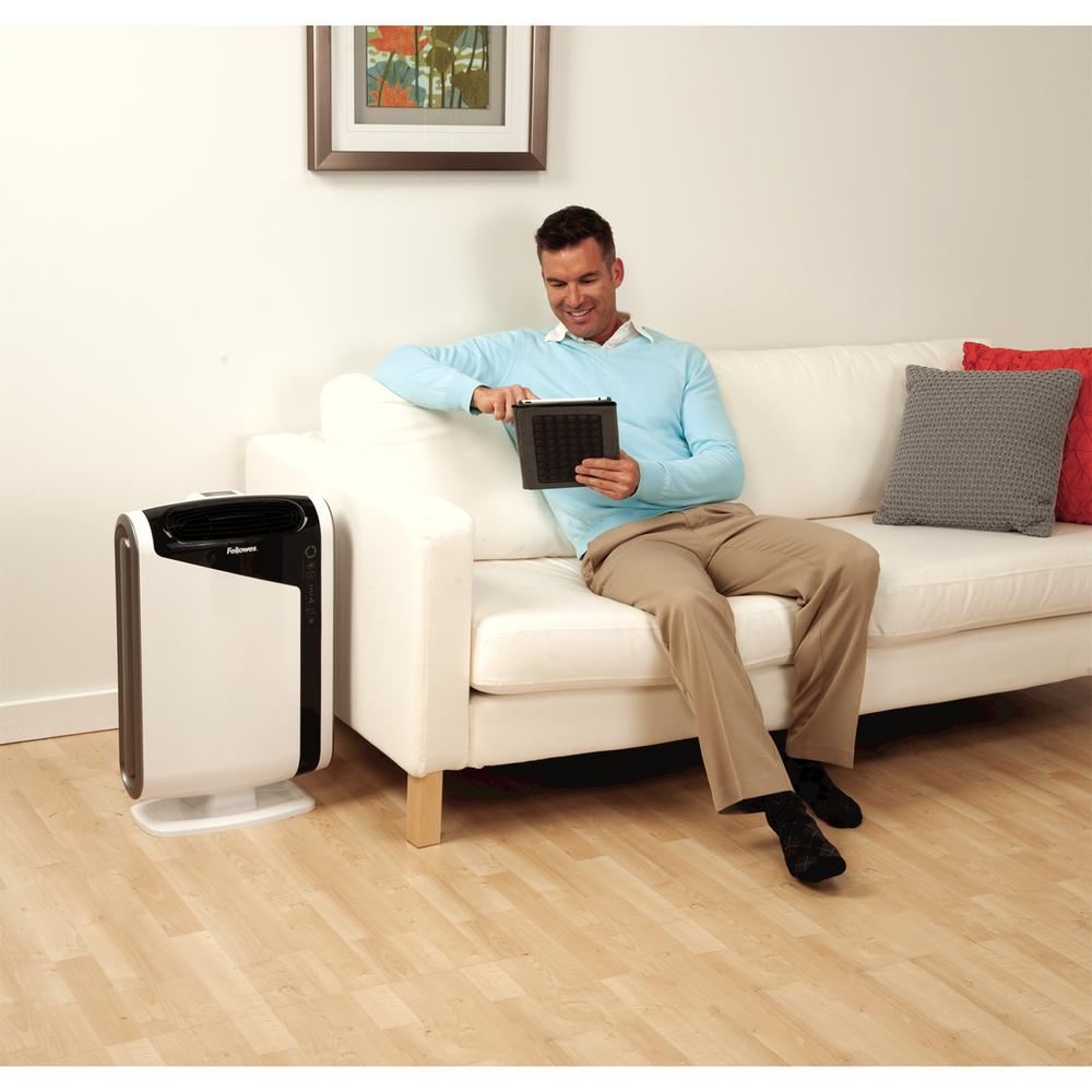 Fellowes AeraMax DX95 True HEPA Large Room Air Purifier 600 sq. ft. for Allergies, Asthma and Odor