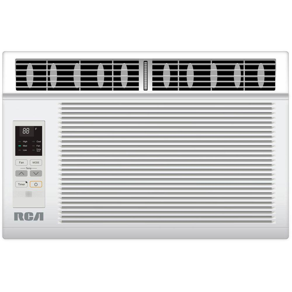 RCA 5,000 BTU 115-Volt Window Air Conditioner with Remote Control, ENERGY STAR