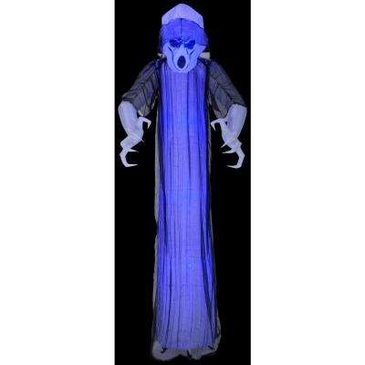 3 ft. W x 8 ft. H Inflatable Lightshow Shortcircuit Frightening Ghost