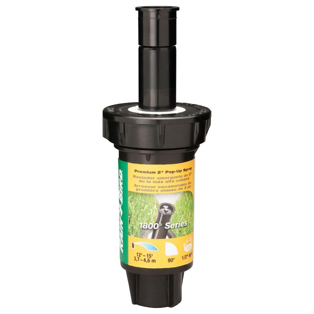 1802 Dual Spray Quarter Pattern 2 in Pop-Up Spray Head