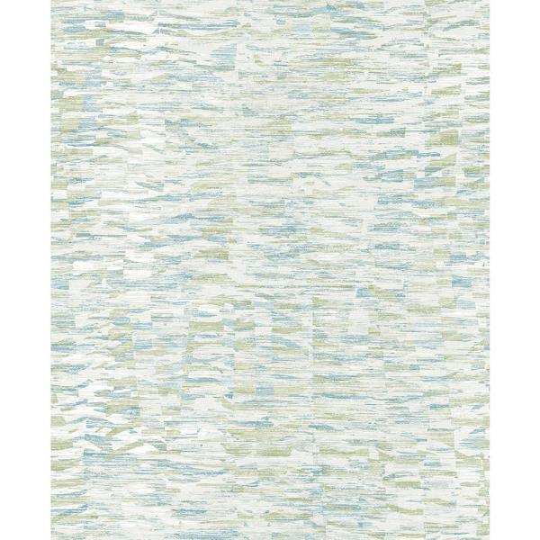 A-Street 56.4 sq. ft. Nuance Blue Abstract Texture Wallpaper 2793-24736