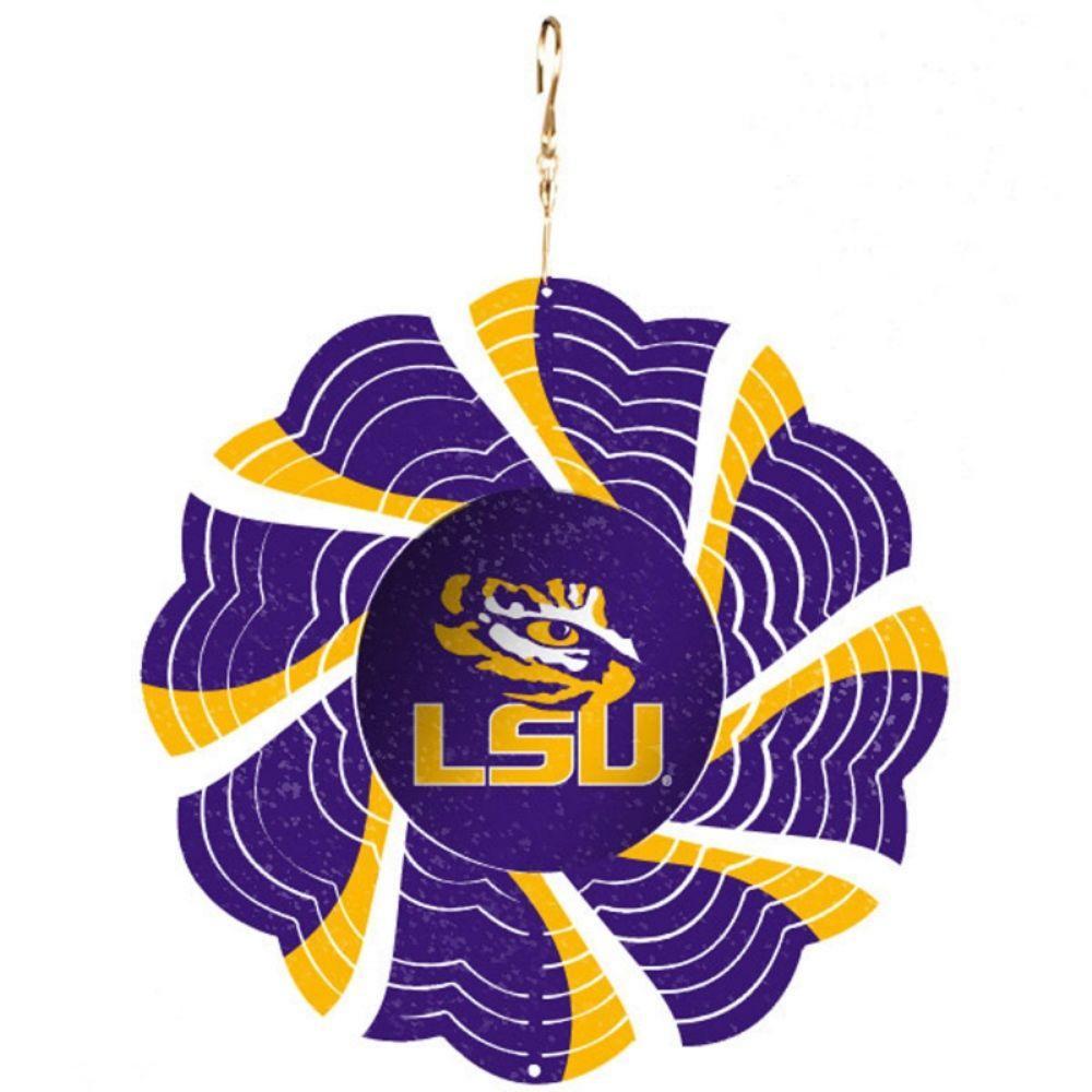 NCAA 10 in. Louisiana State University Geo Spinner