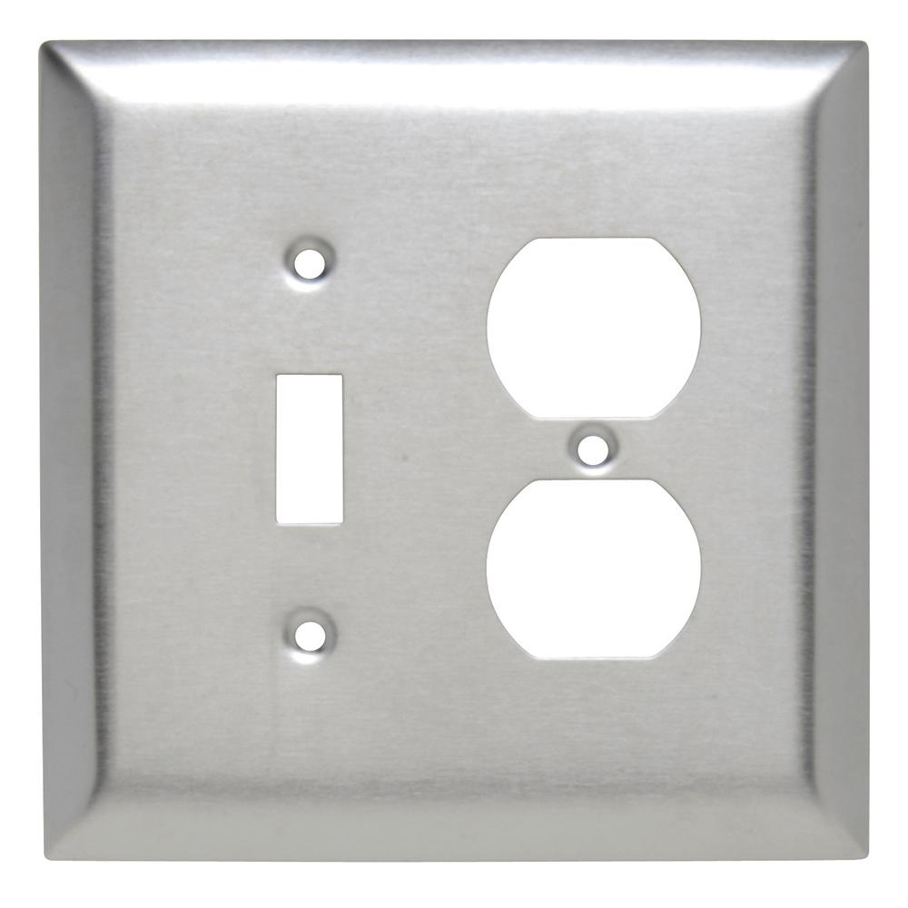 Oversized Outlet Covers Jumbo  Wall Plates  Wall Plates & Jacks  The Home Depot
