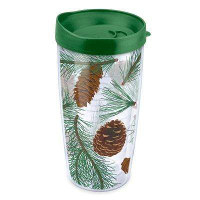 Pine Cones and Bows 16 oz. Tumbler