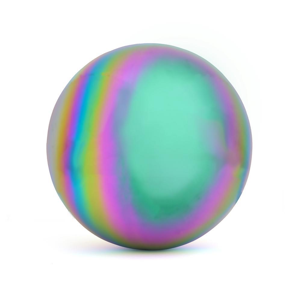 Rainbow 10 in. Gazing Mirror Ball - Stainless Steel