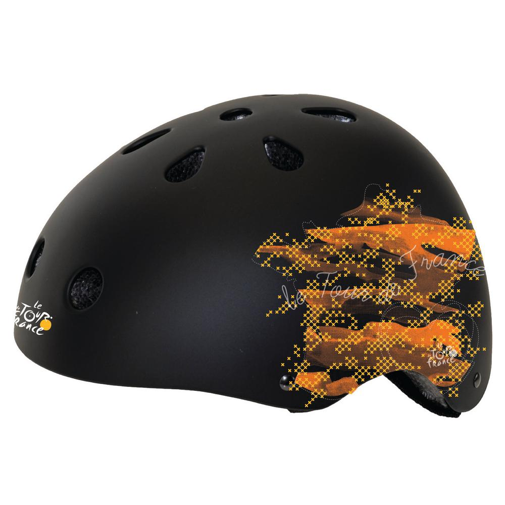 Matte Tour Freestyle Large Bicycle Helmet