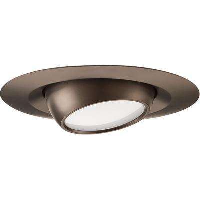 4 in. Antique Bronze Integrated LED Recessed Trim