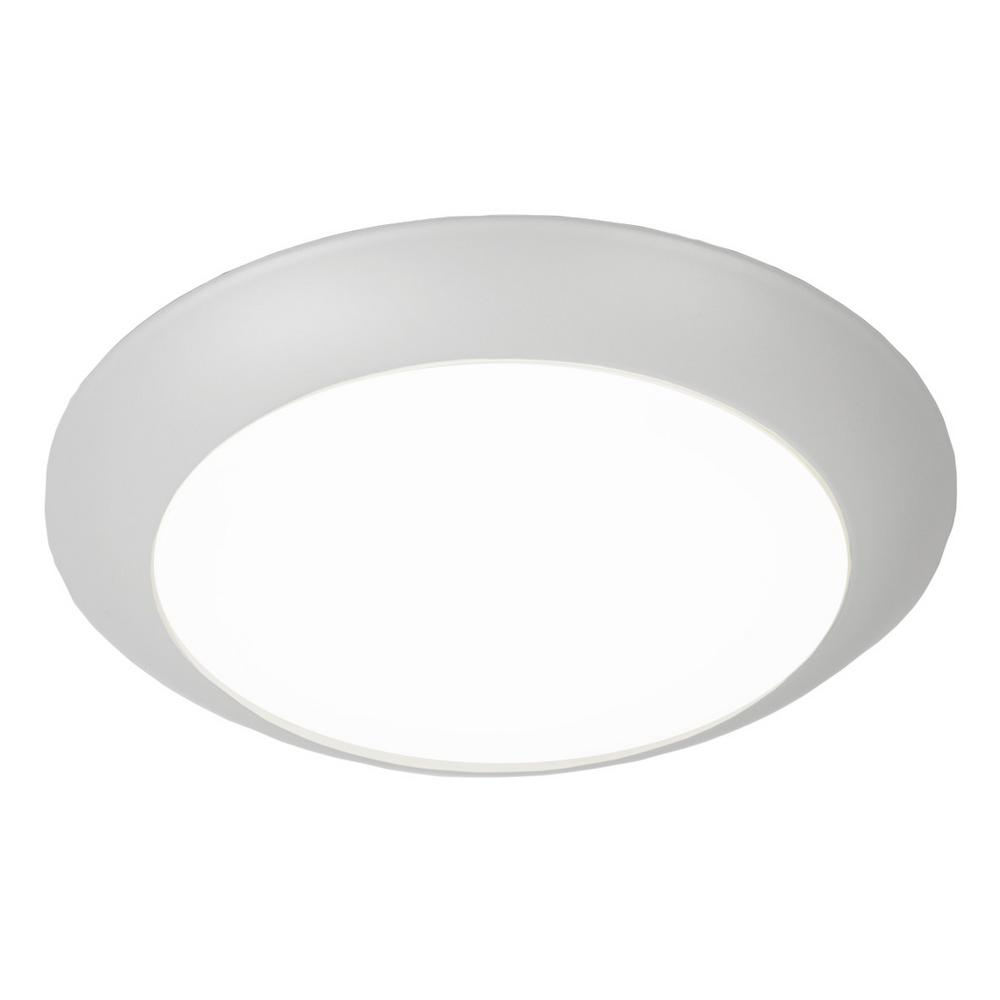 15 Watt White Integrated Led Ceiling Flush Mount