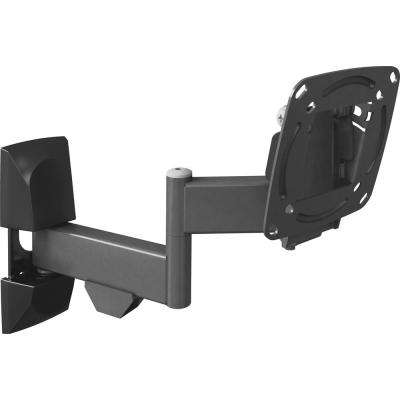 Barkan Full Motion Flat/Curved Panel TV/Monitor Wall Mount for 15 in. to 29 in. Screens up to 33 lbs. UL certified