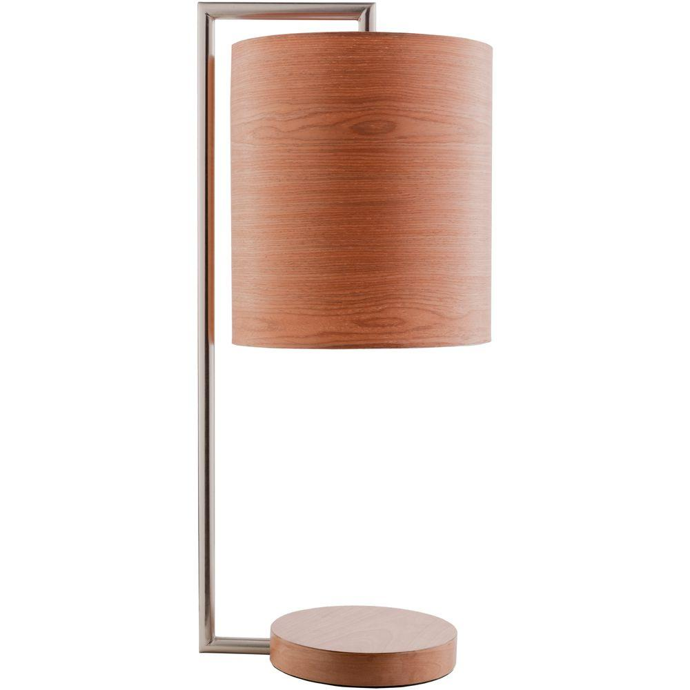 Cornelis 28 in. Brushed Nickel Indoor Table Lamp