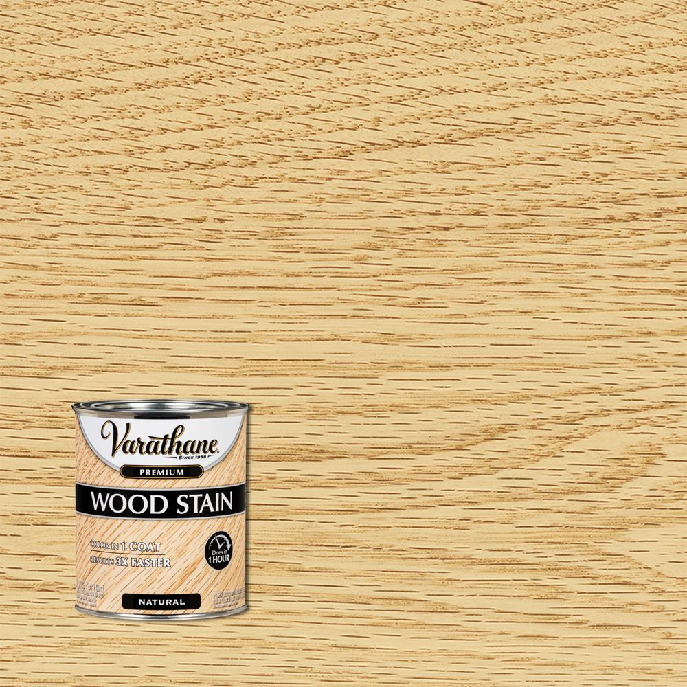 Varathane 1 qt. Natural Premium Fast Dry Interior Wood Stain (2 Pack)