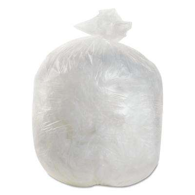 7 Gal. Natural High-Density Can Liner (50 Bag/Roll, 40-Roll/Carton)