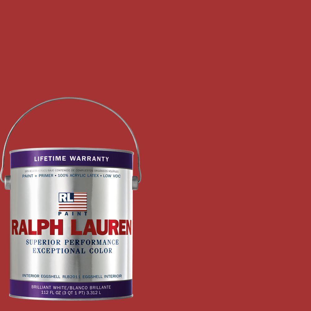 Ralph Lauren 1-gal. Stateroom Red Eggshell Interior Paint