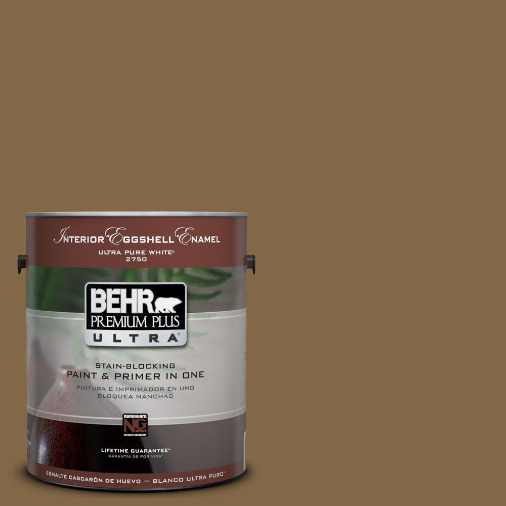 BEHR Premium Plus Ultra 1-Gal. #UL180-26 Bazaar Interior Eggshell Enamel Paint