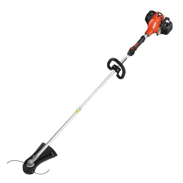 25.4 cc Gas 2-Stroke Cycle Straight Shaft Trimmer