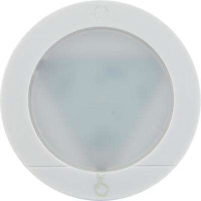 Touch Activated White LED Puck Light (2-Pack)