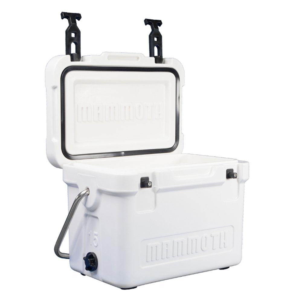 Cruiser 15 Qt. White Cooler