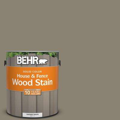 1 gal. #SC-154 Chatham Fog Solid Color House and Fence Wood Stain