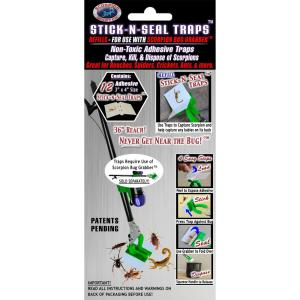 Scorpion Master Stick-N-Seal Trap Refills ( Pack of 2) by Scorpion Master