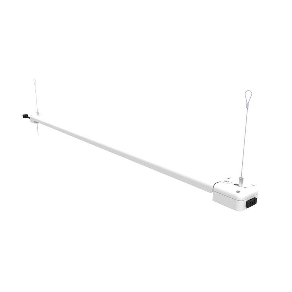Commercial Electric 4 Ft. 1-Lamp 30-Watt White Integrated