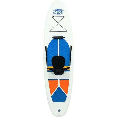 Hydro-Force White Cap Inflatable SUP Stand Up Paddle Board (2 Pack)