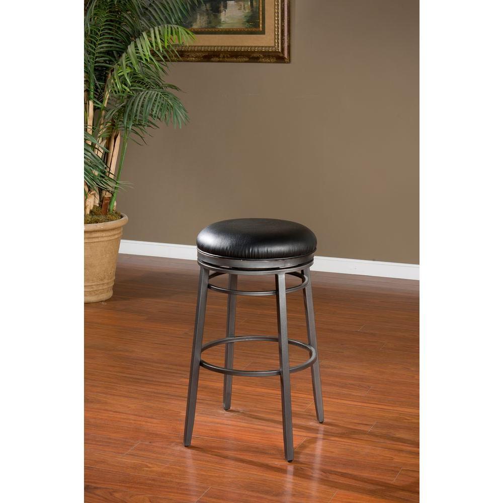 American Heritage Furniture Florida: American Heritage Silvano 30 In. Flint Cushioned Bar Stool