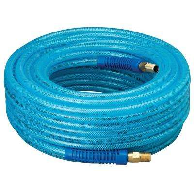 1/4 in. x 100 ft. HD Bend Restrictors Air Hose with 1/4 in. Swivel Fittings