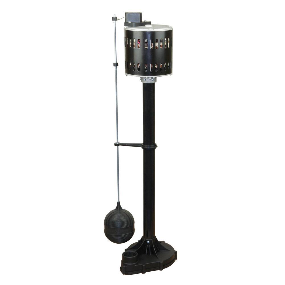 Everbilt 1/3 HP Pedestal Sump Pump